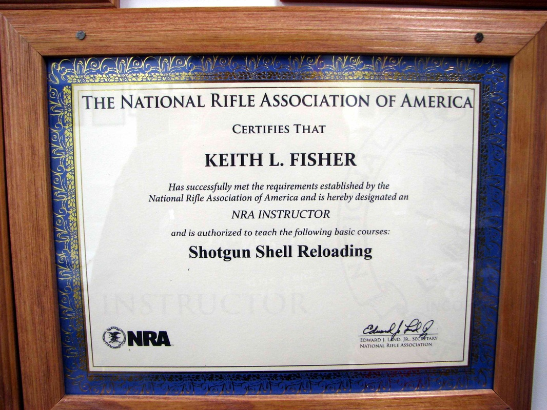 Reloading Classes Nra Certified Instructor In Hillsboro Mo