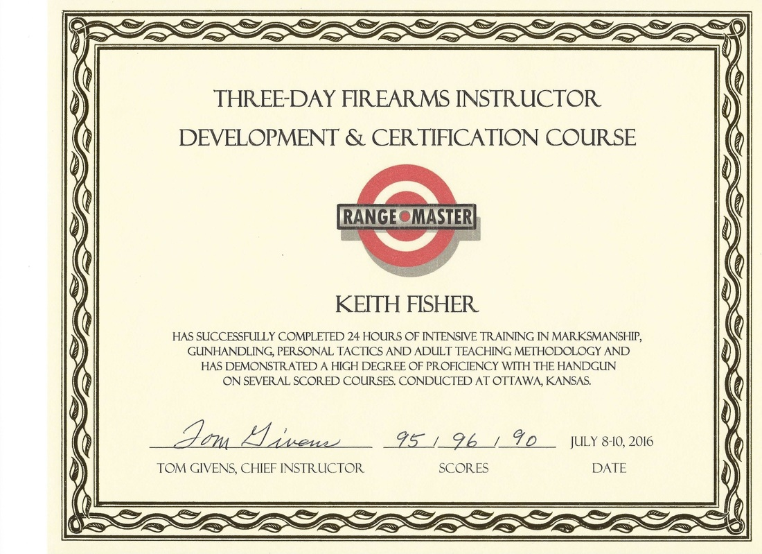 Our Instructor - NRA Certified Instructor in Hillsboro, MO.